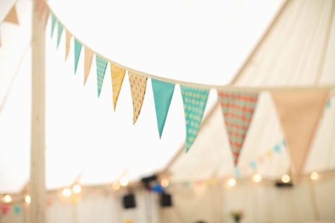 banderines boda