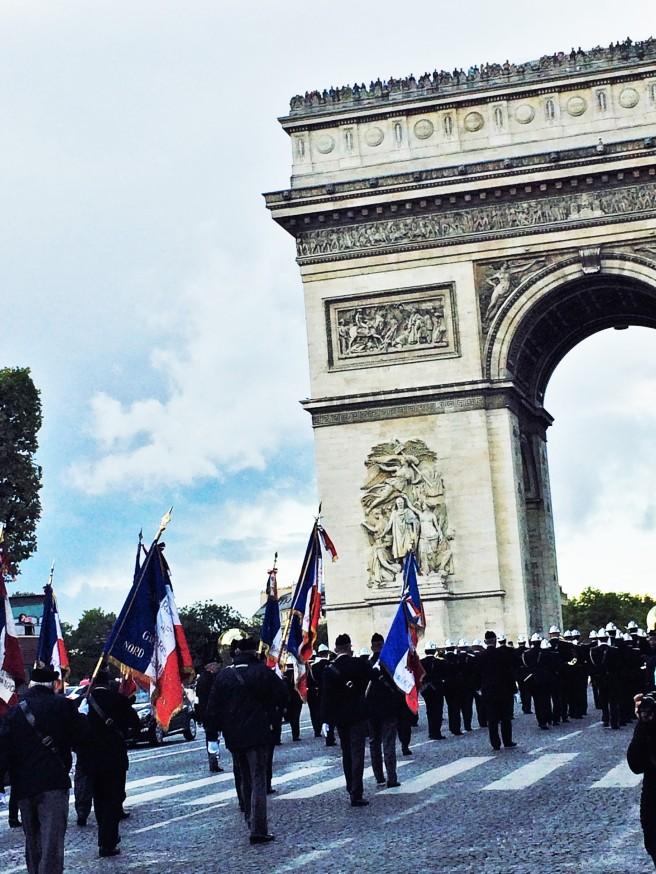 Desfile Champs Elysées