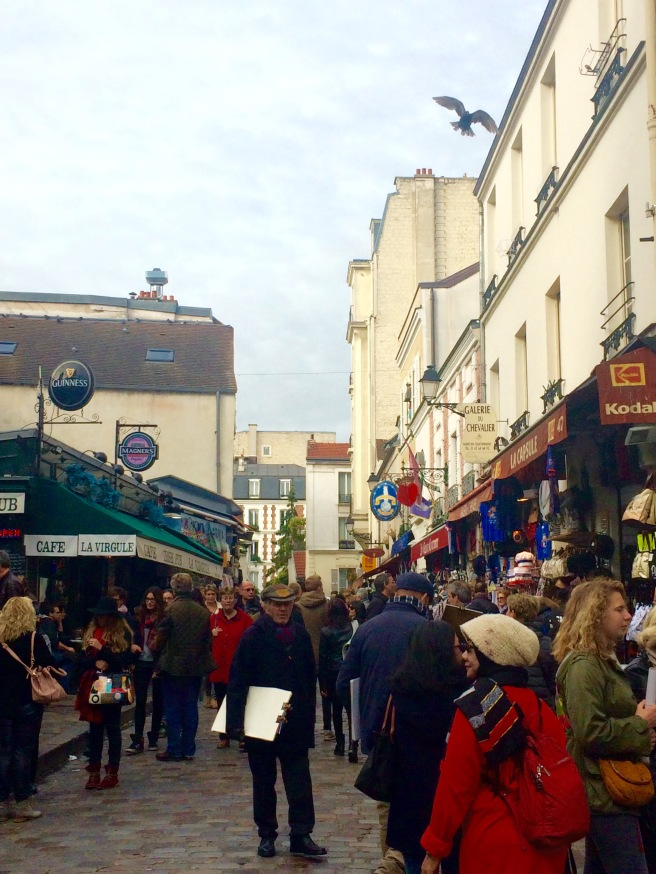 Zona turística de Montmartre
