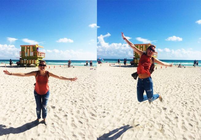 Happy in Miami Beach