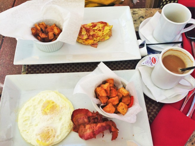Desayuno americano / American Breakfast
