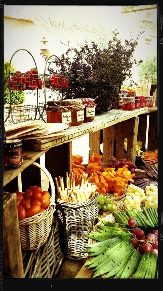 Mesa de quesos Ainhoa&Co