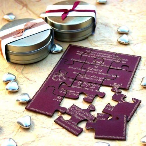 Invitación puzle