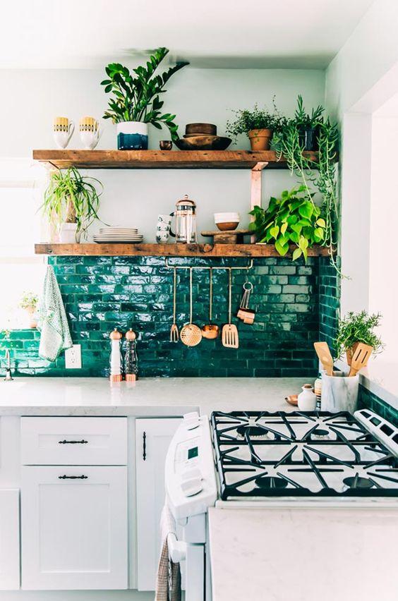 decoracion-cocina-con-plantas