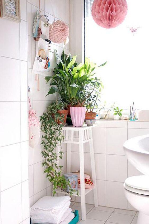 decoracion-de-bano-con-plantas