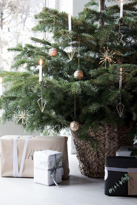 arbol-de-navidad-decoracion-oro-minimalista