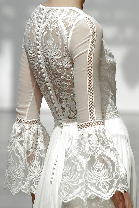 vestido novia nueva colección Pol Nuñez