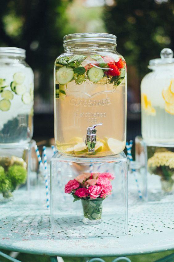 mesa limonadas boda